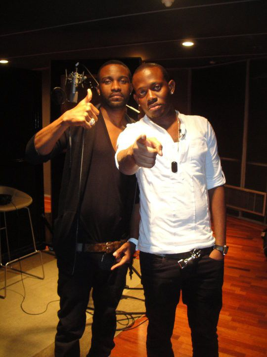 Fally Ipupa and J.Martins